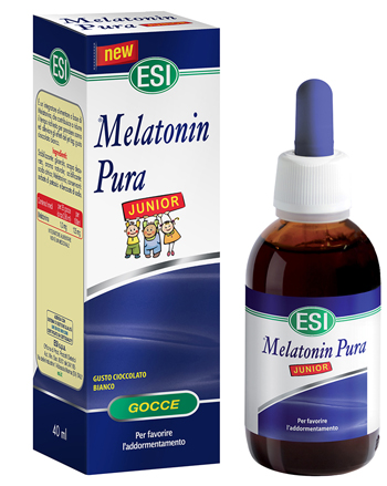 ESI MELATONIN PURA JUNIOR GOCCE 40 ML - Parafarmacia Tranchina