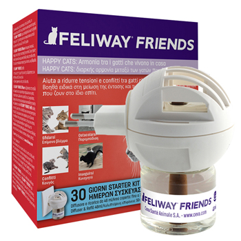 FELIWAY FRIENDS DIFFUSORE + RICARICA DA 48 ML - Farmapage.it