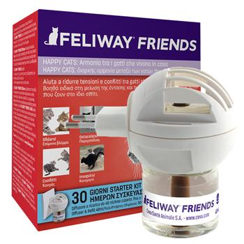 FELIWAY FRIENDS DIFFUSORE + RICARICA DA 48 ML - Arcafarma.it