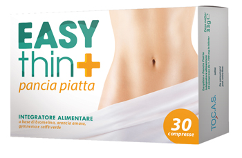 EASYTHIN + PANCIA PIATTA COMPRESSE - Farmia.it