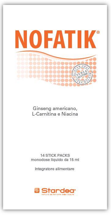 NOFATIK 14 STICKPACS MONODOSE LIQUIDO DA 15 ML - Farmacia Giotti