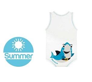 J BIMBO SUMMER BEACH BIANCO SQUALO - farmaciadeglispeziali.it