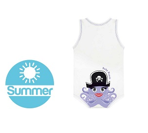 J BIMBO SUMMER BEACH BIANCO POLIPO - Farmawing