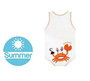 J BIMBO SUMMER BEACH BIANCO GRANCHIO - Farmabros.it