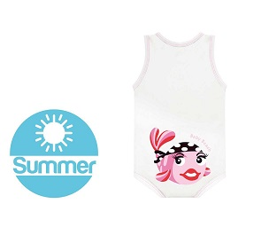 J BIMBO SUMMER BEACH BIANCO PESCE - Farmabros.it