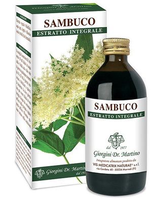 SAMBUCO FIORI ESTRATTO INTEGRALE 200 ML - Farmaseller