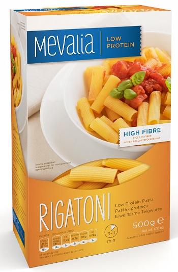 Mevalia Rigatoni Aproteici 500g - Farmastop