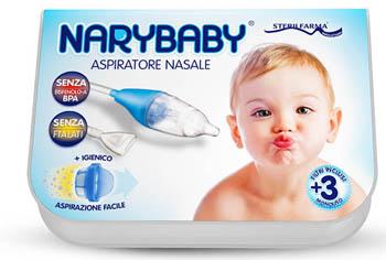 RICAMBIO MONOUSO NARY BABY 10 FILTRI + BECCUCCIO MORBIDO