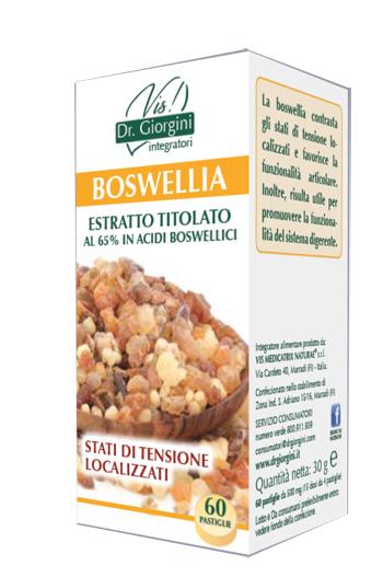 BOSWELLIA ESTRATTO TITOLATO 60 PASTIGLIE - Nowfarma.it