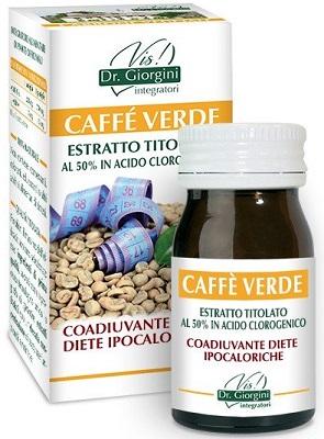 CAFFE' VERDE ESTRATTO TITOLATO 60 PASTIGLIE - Zfarmacia