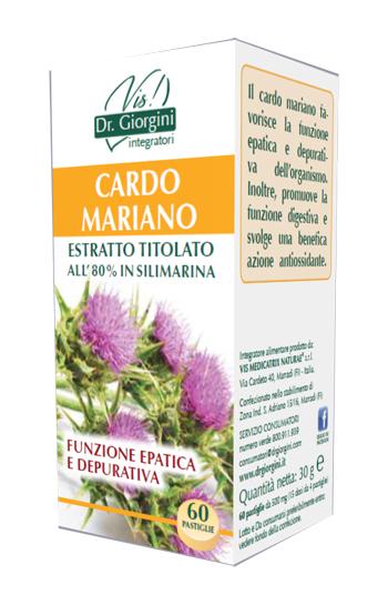 CARDO MARIANO ESTRATTO TITOLATO 60 PASTIGLIE - Iltuobenessereonline.it