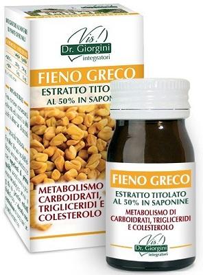 FIENO GRECO ESTRATTO TITOLATO 60 PASTIGLIE - COSIMAX SRLS