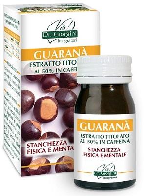 GUARANA' ESTRATTO TITOLATO 60 PASTIGLIE - Farmacia Centrale Dr. Monteleone Adriano