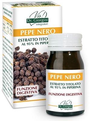 PEPE NERO ESTRATTO TITOLATO 60 PASTIGLIE - Farmacia Centrale Dr. Monteleone Adriano