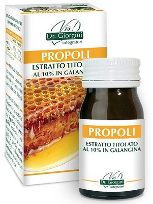 PROPOLI ESTRATTO TITOLATO 60 PASTIGLIE - Farmastar.it