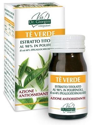 THE VERDE ESTRATTO TITOLATO 60 PASTIGLIE - Farmacia Centrale Dr. Monteleone Adriano