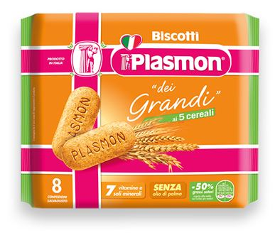 PLASMON BISCOTTO PER GRANDI CEREALI 270 G - Farmapage.it