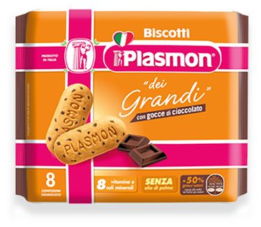 PLASMON BISCOTTO PER GRANDI AL CIOCCOLATO 270 G - Farmapage.it