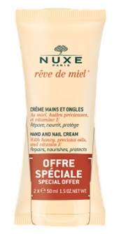 NUXE DUO CREME MAINS ET ONGLES 2X50ML -