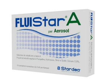 FLUISTAR A 10 MONODOSE DA 3 ML PER AEROSOL - Farmabros.it
