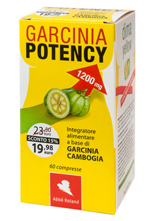 GARCINIA POTENCY 1200 DIMA YELLOW 60 COMPRESSE - Farmabros.it