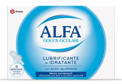 ALFA LUBRIFICANTE MONODOSE 15 FIALE 0,5 ML - Farmacistaclick