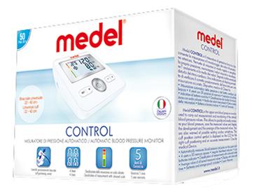 MISURATORE DI PRESSIONE MEDEL CONTROL - Farmacento