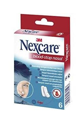 TAMPONE NASALE EMOSTATICO BLOOD STOP NASAL 6 PEZZI - Farmafamily.it