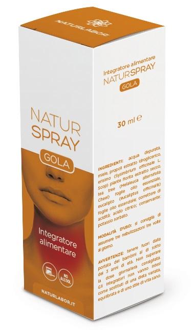NATURSPRAY GOLA 30 ML 6 PEZZI - Farmacia Bisbano