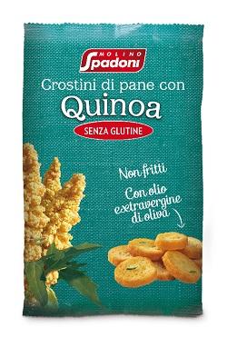 Crostini di Pane con Quinoa senza Glutine 50g - Arcafarma.it