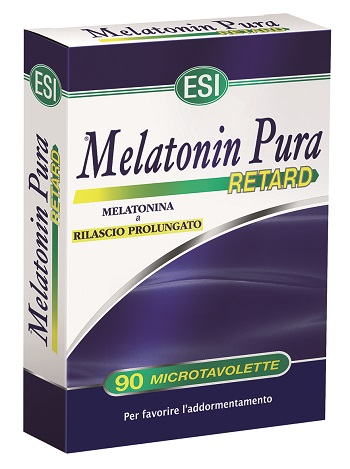 ESI MELATONIN PURA RETARD 90 MICROTAVOLETTE - Farmaciapacini.it