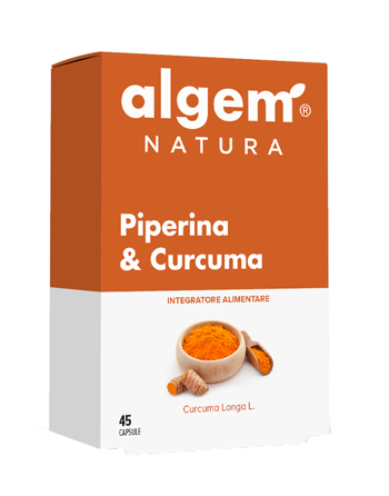 PIPERINA & CURCUMA 45 CAPSULE - Farmafamily.it