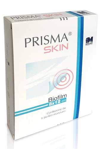 PRISMA SKIN BIOFILM 8 X 12 CM 5 BUSTE - Sempredisponibile.it