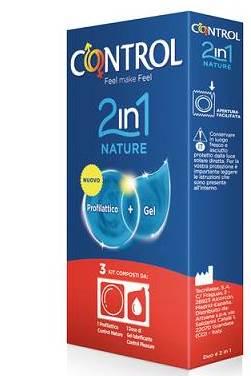 CONTROL 2 IN 1 NATURE + LUBE NATURE 3 PEZZI - Farmacia 33