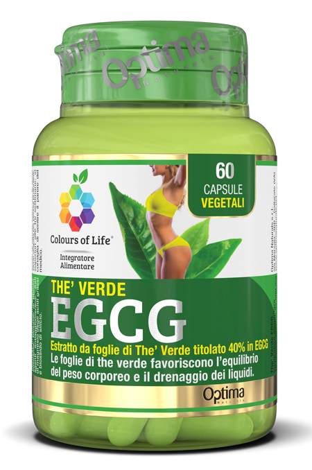 COLOURS OF LIFE THE VERDE EGCG 60 CAPSULE VEGETALI - farmaciadeglispeziali.it