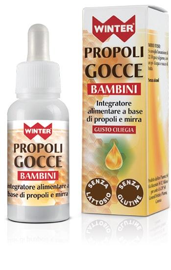 WINTER PROPOLI GOCCE BAMBINI 30 ML - Farmacia Giotti