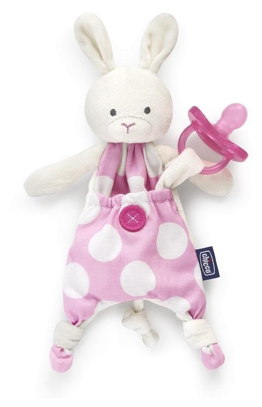 Chicco Pocket Friend 0m+ Portasucchietto Colore Rosa - Arcafarma.it