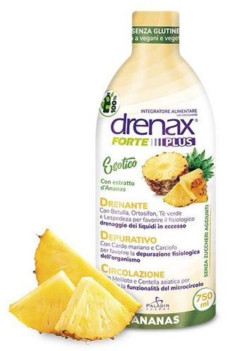DRENAX FORTE PLUS ESOTICO CON ESTRATTO D'ANANAS 750 ML - Farmafamily.it