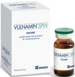 VULNAMIN SPW MEDICAZIONE IN POLVERE DI SODIO JALURONATO E AMINOACIDI 2 G - Farmacia Centrale Dr. Monteleone Adriano