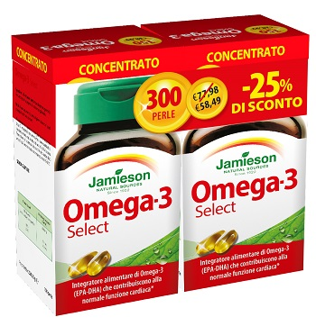 Jamieson OMEGA 3 SELECT PROMO DUO PACK - Spacefarma.it