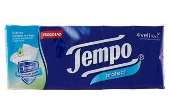 TEMPO PROTECT FAZZOLETTI - Farmaseller
