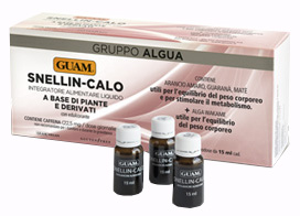 GUAM GRUPPO ALGUA SNELLIN-CALO 14 FLACONCINI DA 15 ML - Zfarmacia
