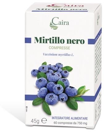 CAIRA MIRTILLO NERO 60 COMPRESSE - Farmabaleno