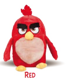 ANGRY BIRDS RED PELUCHE RISCALDABILE - Antica Farmacia Del Lago