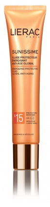 LIERAC SUNISSIME FLUIDO VISO SPF15 40 ML - Farmastar.it