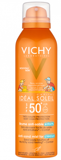 IDEAL SOLEIL ANTI-SAND KIDS SPF50 200 ML - La farmacia digitale
