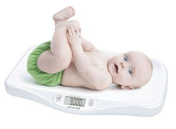 ACCUMED BILANCIA DIGITALE BABY PESABAMBINI DA 0 A 20KG - Farmafamily.it