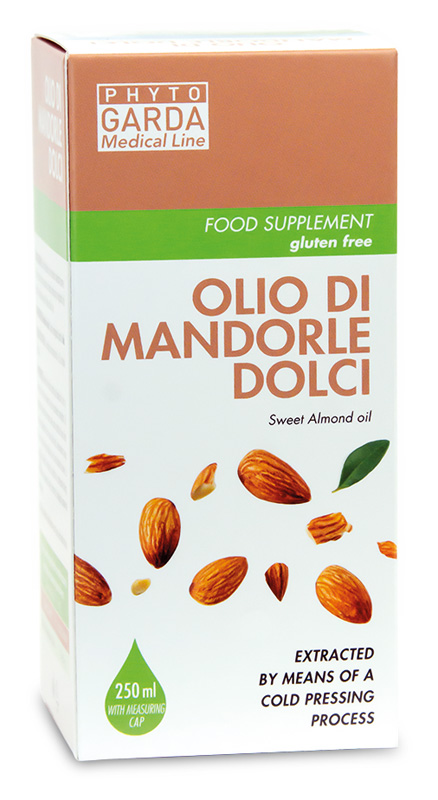 OLIO MANDORLE DOLCI CON DOSATORE 250 ML - Spacefarma.it