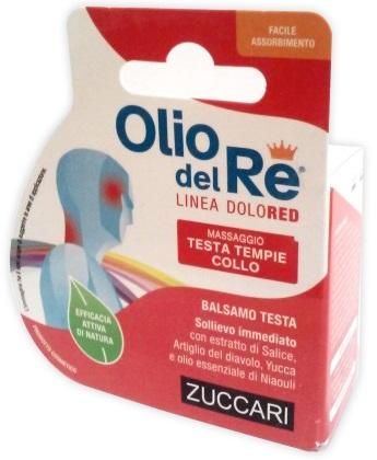 OLIO DEL RE DOLORED BALSAMO TESTA - Farmafamily.it