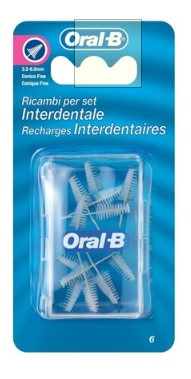 ORALB MAN SET INTERDENTALE REFILL CONICO FINE 3/6,5 MM - La farmacia digitale